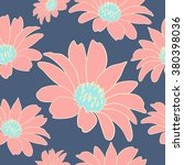 seamless pattern with flowers.... | Shutterstock .eps vector #380398036