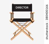 film director chair. wooden... | Shutterstock .eps vector #380400166