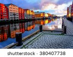 Trondheim city, Norway.