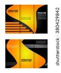 brochure folder leaflet... | Shutterstock .eps vector #380429842