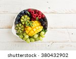 Fruit Plate With Variety Of...