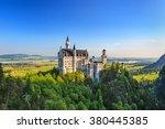 neuschwanstein castle  fussen ... | Shutterstock . vector #380445385