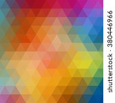 colorful triangle abstract... | Shutterstock .eps vector #380446966