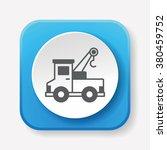 truck icon | Shutterstock .eps vector #380459752