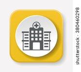hospital icon | Shutterstock .eps vector #380460298