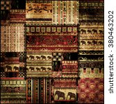 Patchwork African Pattern...