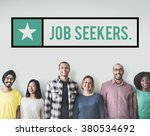 job seekers jobs headhunting... | Shutterstock . vector #380534692