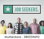 job seekers jobs headhunting... | Shutterstock . vector #380534692