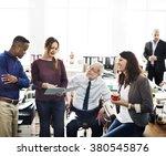 business people meeting... | Shutterstock . vector #380545876