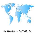 blue map | Shutterstock .eps vector #380547166