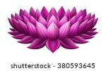 Illustration Of Single Lotus ...