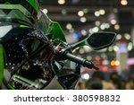 Zoom At Motorcycle Handlebar I...