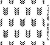 seamless floral vector pattern. ... | Shutterstock .eps vector #380603176