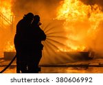 Fire Fighters Extinguishing...