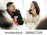 Small photo of Business People Talking Discussing Concept
