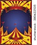 sky night circus big top. a... | Shutterstock .eps vector #380622535