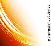 orange abstract vector lines | Shutterstock .eps vector #380624488