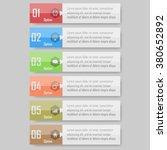 modern design template   can be ... | Shutterstock .eps vector #380652892