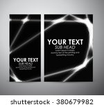 abstract shining line pattern.... | Shutterstock .eps vector #380679982