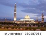 the sultan qaboos grand mosque...   Shutterstock . vector #380687056