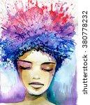 abstract watercolor...   Shutterstock . vector #380778232