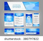 design of flyers  banners ... | Shutterstock .eps vector #380797822
