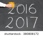 New Year 2017 Is Coming Concep...
