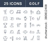 set vector line icons with open ... | Shutterstock .eps vector #380812408