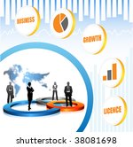 global business concept | Shutterstock .eps vector #38081698
