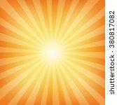 sun sunburst pattern. vector... | Shutterstock .eps vector #380817082