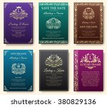 Set Of Luxury Flyer Pages With...