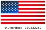 clean modern flag of the united ... | Shutterstock .eps vector #380833252