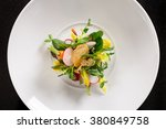 minimalist chefs salad | Shutterstock . vector #380849758