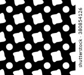 vector modern seamless geometry ... | Shutterstock .eps vector #380854126
