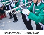 Trumpet Player In Green Shirt...