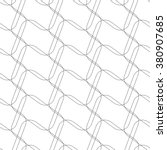 abstract repeatable mesh link... | Shutterstock .eps vector #380907685