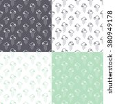 seamless pattern clouds and... | Shutterstock .eps vector #380949178
