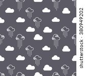 seamless pattern clouds and... | Shutterstock .eps vector #380949202