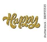 hand lettering inscription ... | Shutterstock .eps vector #380955535