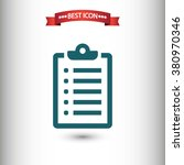 checklist icon vector ...