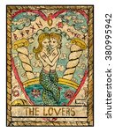 The Lovers. Full Colorful Deck...
