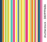 Seamless Striped With Colorful...