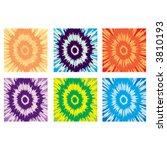 tie dye patterns | Shutterstock .eps vector #3810193