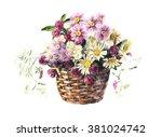 Bouquet From Meadow Flowers In...