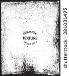 grunge texture.grunge... | Shutterstock .eps vector #381031495