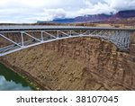 landscape of the grand canyon.... | Shutterstock . vector #38107045