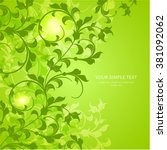 greeting card or invitation... | Shutterstock .eps vector #381092062