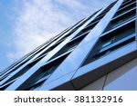 merger of sky with reflecting... | Shutterstock . vector #381132916