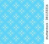 vintage seamless floral pattern.... | Shutterstock .eps vector #381153316