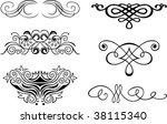 vector design elements | Shutterstock .eps vector #38115340